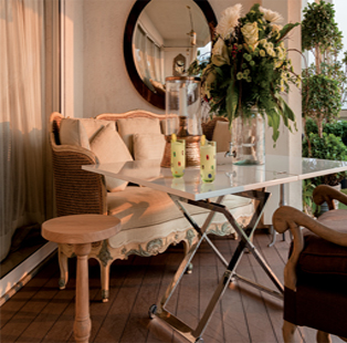 Out Standing: 4 ways to convert your city balcony into a fun alcove