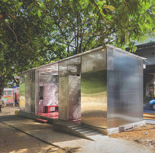 You'll want to spend hours in this beautifully designed public toilet