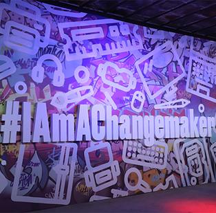 Artistry galore at the HP India X ELLE DECOR India #IAmAChangemaker
