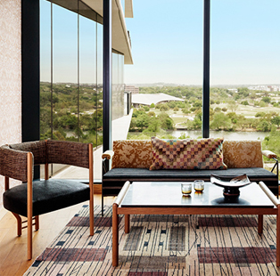 Austin Proper Hotel and Residences artfully places itself at the cultural crossroads of Downtown Texas' skyline