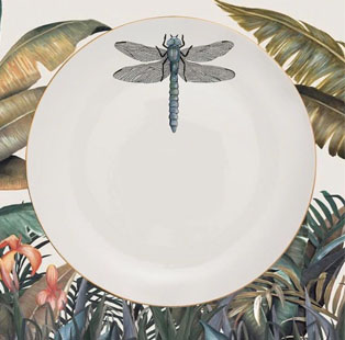 #TrendAlert The Bug Report: Create a flutter in your decor compositions as invertebrates inspire prints and patterns