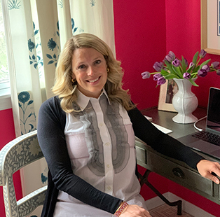 Parker Bowie Larson, Style Director at ELLE DECOR (USA), shows us her home office
