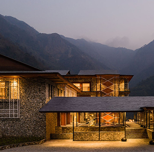 Taj Rishikesh seems like an extension of its hilly environs, albeit decidedly more luxurious
