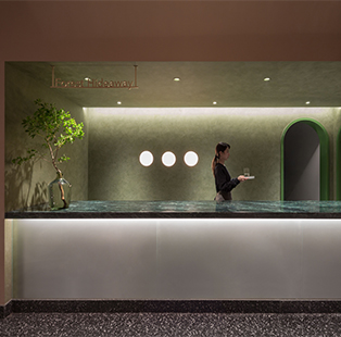 Forest For Rest, a spa designed by Leaping Creative, brings back the ancient Chinese tradition of foot bath therapy