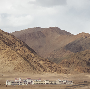 Architect Amin Nayyar shares the story behind the making of University of Kashmir's Leh campus
