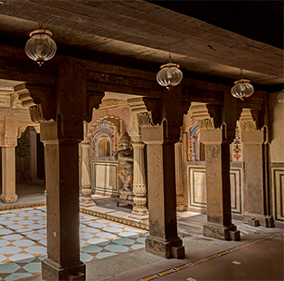 Recently restored to its stately grandeur, the 200-year-old Brijrama Palace Hotel in Varanasi offers an unforgettable experience