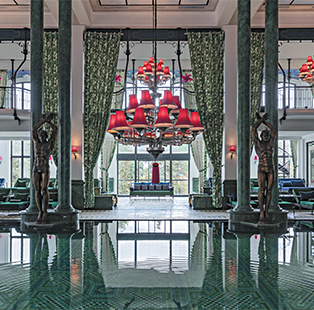 Architect Bill Bensley envisions a fusion for Hotel de la Coupole, member of the MGallery Hotel Collection, where French haute couture meets hill tribe culture