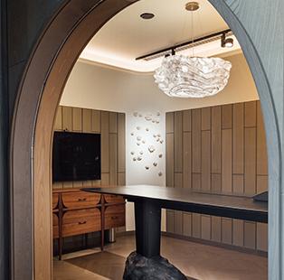 Iram Sultan Design Studio conceives allegorical interiors for pharmaceutical giant Zydus Cadila's office in Ahmedabad