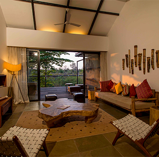 Redefine your wilderness retreat with the rustic majesty brought to you by Kaav Safari Lodge