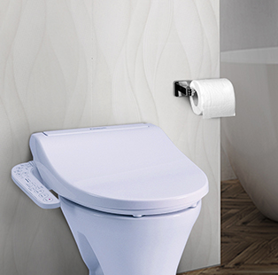The Panasonic Hygiene Seat embodies extravagance and efficiency and is a must-have bathroom gizmo