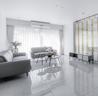 Uneven's Shourya Patel and Dexter Fernandes have curated this pristine residence in Vadodara