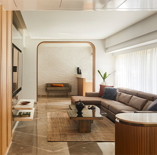 The Long House by Anushka Shetty is peppered with neutral textures and chic interiors