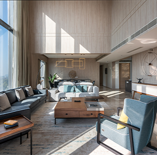 A pastel palette, abundant daylight and minimal luxury best describe this Ahmedabad residence by Ego Designs