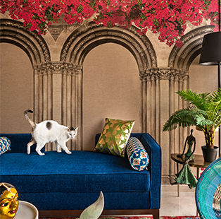 Krsnaa Mehta's new Mumbai home is punctuated with muted luxury and contemporary Indian artefacts