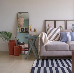 Purple Backyard's Kumpal Vaid fashions an alluring, intimate and minimalist sanctuary for herself