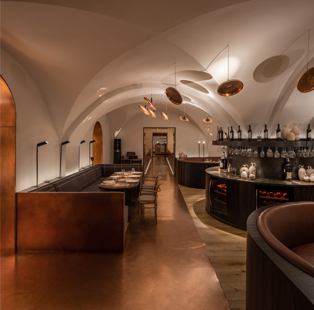 YOD Group cooks up an architectural delight of historic and modern essence for Samna Restaurant