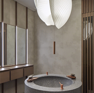 Pallavi Dean of creative practice Roar pays an ode to Asian architecture in her design of this serene spa in Dubai