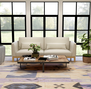 Knotty Carpets—The keepers of tradition, blends conventional rug-making with contemporary elements!