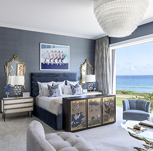 Mod glam meets timeless elegance in the Palm Beach villa by architecture and design firm Stonefox