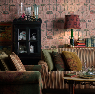 Asian Paints' most recent association with iconic designer Sabyasachi Mukherjee has resulted in a series of patterned wall coverings for Nilaya