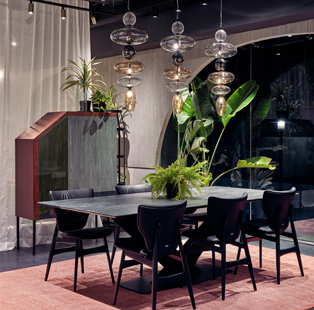 #EDLoves these luxury dining spaces by Farah Ahmed Mathias and Dhaval Shellugar of FADD Studio