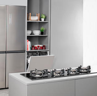 Häfele's range of appliances enables perfect pantries for perfect workplaces