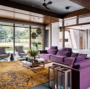 Arpan Shah creates a dynamic dialogue with nature for this residence in Ahmedabad