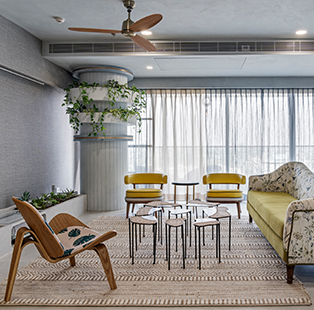 Artful montages adorn this biophilic Bengaluru home crafted by Multitude of Sins