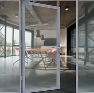 Häfele's Stile Door Hardware offers the perfect privacy solution for modern offices