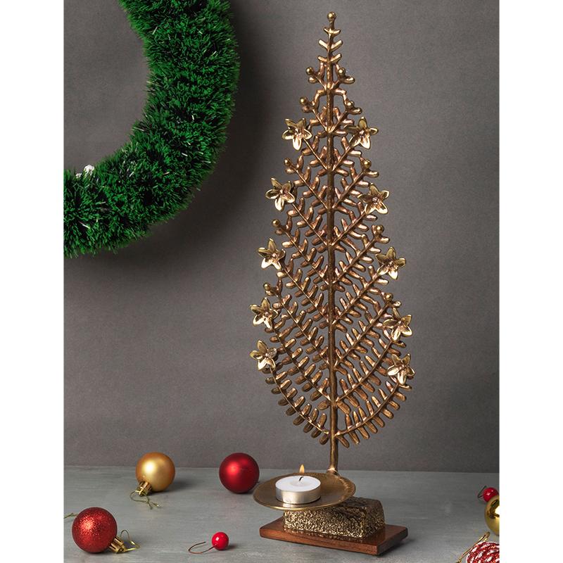 Brass Orissa Pine Tree by Baaya Design