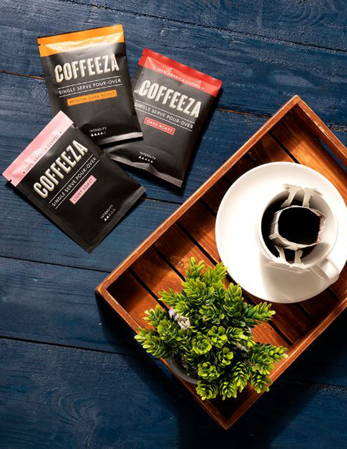 Pour-Over Coffee Bags by Coffeeza