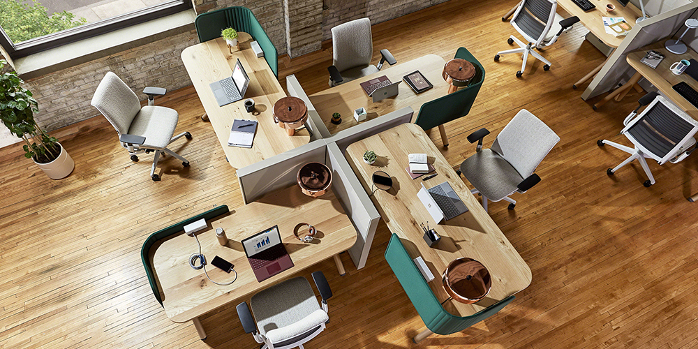 Movable Furniture by Steelcase