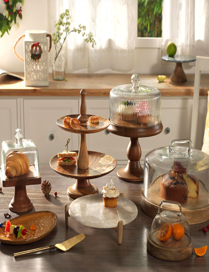 Wooden tabletop accessories by Ellementry