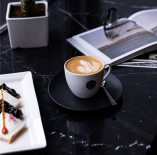 If Dark Academia was a coffee shop, it would look a lot like Soros Coffee by Studio Goya
