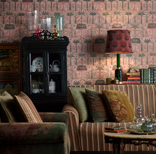 Seize a feeling of longing through the furnishing fabrics collection created by Sabyasachi for Nilaya by Asian Paints