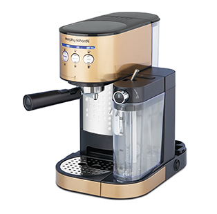Your home is your new café, thanks to the Morphy Richards Kaffeto Coffee Maker