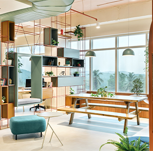 Get inspired to be inspired—ED curates a list of cool offices to nudge you to give your office space a face-lift