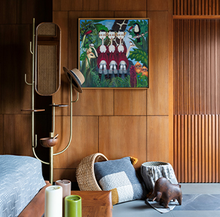 Feet on the ground and dreaming of the sky—Tejal Mathur weaves a timeless narrative through this family home in Juhu